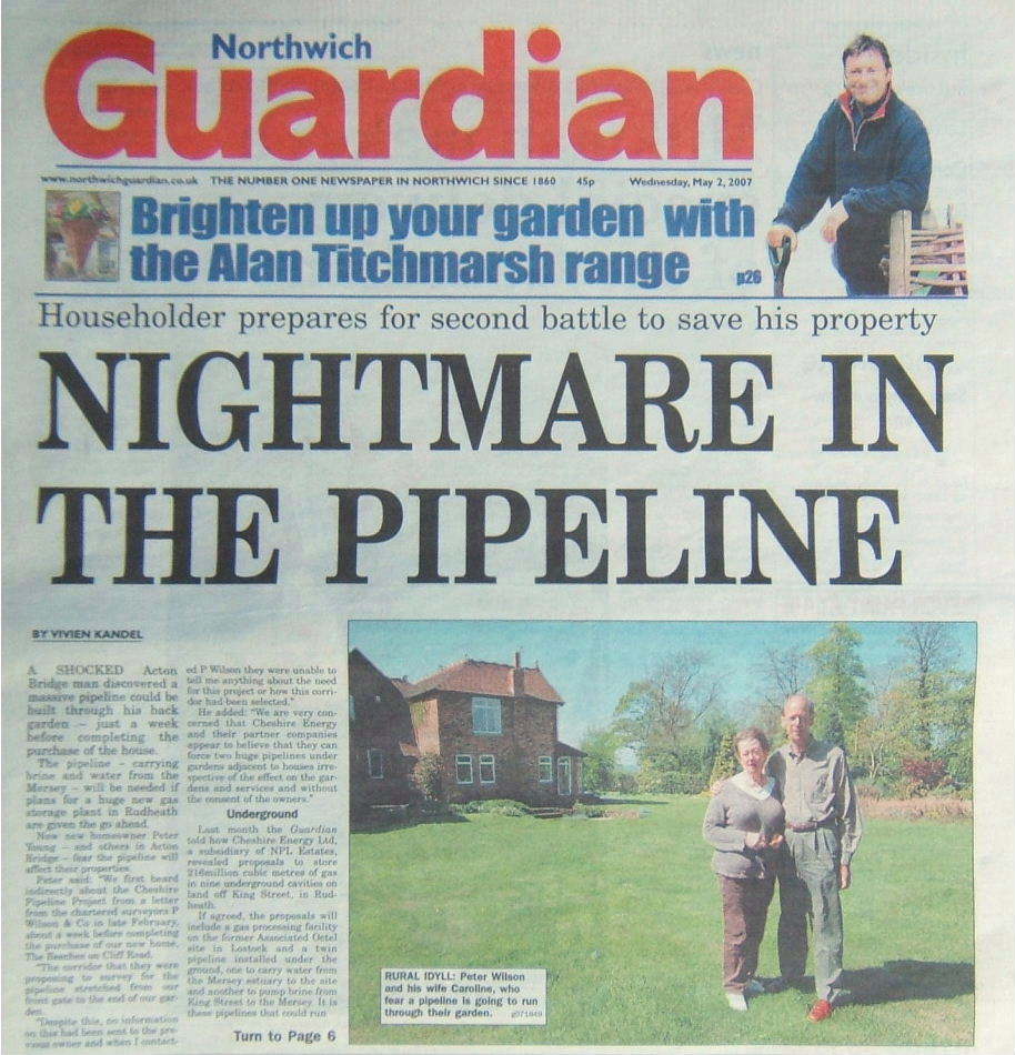 Copyright Northwich Guardian 2007